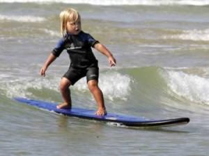 サーフィンのスタンス矯正